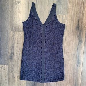 A&F Lace Lined Dress